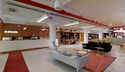 Modern Shared Office Space * 3D Model
